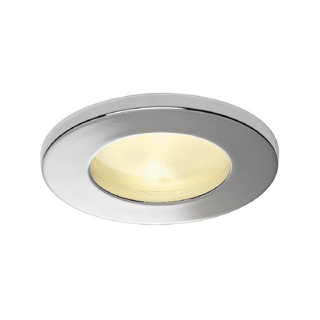 """Led Dusche Decke : LED """"Dusche-R"""" chrom"""