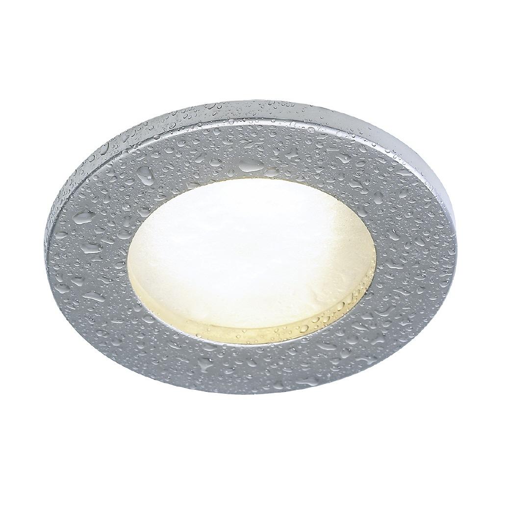 Led Lampe F?r Dusche : led einbauleuchte in rundem design f?r den einsatz im bad oder der