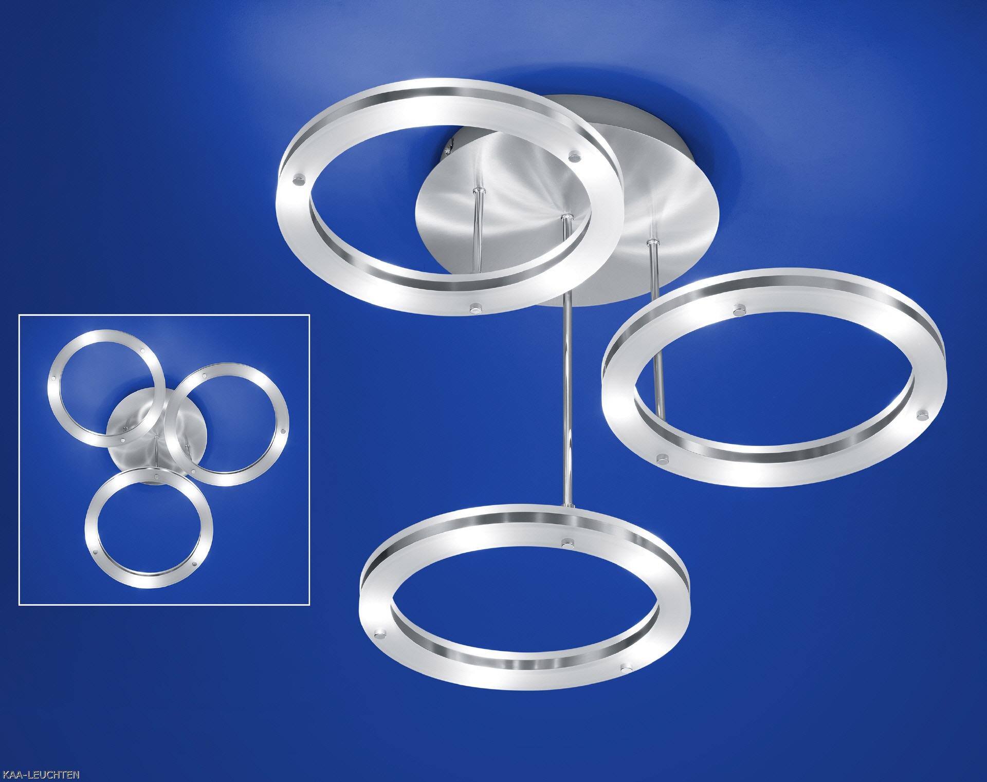 mit drehbaren led ringen die nach oben und unten leuchten. Black Bedroom Furniture Sets. Home Design Ideas