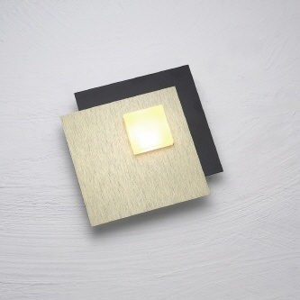 "Escale LED ""Blade"" 44, Blattgold"