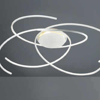 "Paul Neuhaus LED ""Circle"" M-Silber"